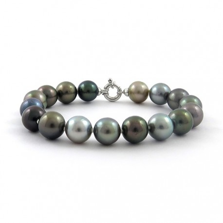 Bracelet 17 pearls of Tahiti