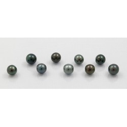 set of 9 pearls round