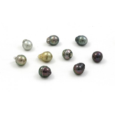 9 pearls circled/baroque 10 mm