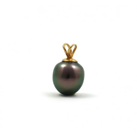 Pendant 1 pearl in the shape of a drop