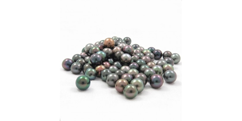 The black pearl: a colorful pearl